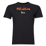 Belgium 2014 FIFA World Cup Brazil(TM) Men's Premium Elements T-Shirt (Black)