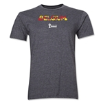 Belgium 2014 FIFA World Cup Brazil(TM) Men's Premium Elements T-Shirt (Dark Grey)