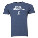 Bosnia-Herzegovina 2014 FIFA World Cup Brazil(TM) Men's Premium Core T-Shirt (Bluel)