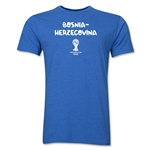Bosnia-Herzegovina 2014 FIFA World Cup Brazil(TM) Men's Premium Core T-Shirt (Heather Royal)