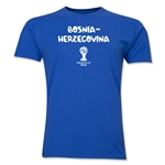 Bosnia-Herzegovina 2014 FIFA World Cup Brazil(TM) Men's Premium Core T-Shirt (Royal)