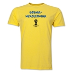 Bosnia-Herzegovina 2014 FIFA World Cup Brazil(TM) Men's Premium Core T-Shirt (Yellow)