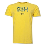 Bosnia-Herzegovina 2014 FIFA World Cup Brazil(TM) Men's Premium Elements T-Shirt (Yellow)