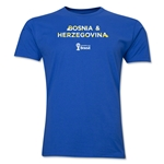 Bosnia-Herzegovina 2014 FIFA World Cup Brazil(TM) Men's Premium Elements T-Shirt (Royal)