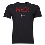 Mexico 2014 FIFA World Cup Brazil(TM) Men's Premium Element T-Shirt (Black)