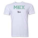 Mexico 2014 FIFA World Cup Brazil(TM) Men's Premium Element T-Shirt (White)