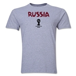 Russia 2014 FIFA World Cup Brazil(TM) Men's Premium Core T-Shirt (Grey)