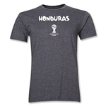 Honduras 2014 FIFA World Cup Brazil(TM) Men's Premium Core T-Shirt (Dark Grey)
