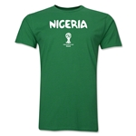 Nigeria 2014 FIFA World Cup Brazil(TM) Men's Premium Core T-Shirt (Green)