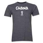 Ghana 2014 FIFA World Cup Brazil(TM) Men's Premium Core T-Shirt (Dark Grey)