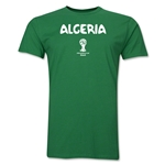 Algeria 2014 FIFA World Cup Brazil(TM) Men's Premium Core T-Shirt (Green)