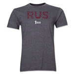 Russia 2014 FIFA World Cup Brazil(TM) Men's Premium Elements T-Shirt (Dark Grey)