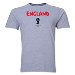 England 2014 FIFA World Cup Brazil(TM) Men's Premium Core T-Shirt (Grey)