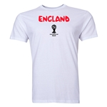 England 2014 FIFA World Cup Brazil(TM) Men's Premium Core T-Shirt (White)