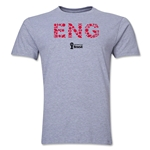 England 2014 FIFA World Cup Brazil(TM) Men's Premium Elements T-Shirt (Grey)