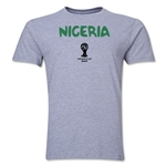 Nigeria 2014 FIFA World Cup Brazil(TM) Men's Premium Core T-Shirt (Grey)