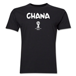 Ghana 2014 FIFA World Cup Brazil(TM) Men's Premium Core T-Shirt (Black)