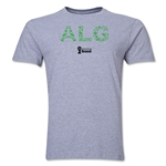 Algeria 2014 FIFA World Cup Brazil(TM) Men's Premium Elements T-Shirt (Grey)