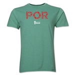 Portugal 2014 FIFA World Cup Brazil(TM) Men's Premium Elements T-Shirt (Heather Green)