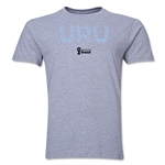 Uruguay 2014 FIFA World Cup Brazil(TM) Men's Premium Elements T-Shirt (Grey)
