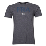 France 2014 FIFA World Cup Brazil(TM) Men's Premium Elements T-Shirt (Dark Grey)