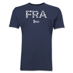 France 2014 FIFA World Cup Brazil(TM) Men's Premium Elements T-Shirt (Grey)