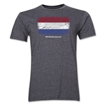 Netherlands FIFA World Cup Brazil(TM) Men's Premium Flag T-Shirt (Dark Gray)