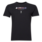 Chile v Australia 2014 FIFA World Cup Brazil(TM) Men's Premium Match Hashtag T-Shirt (Black)