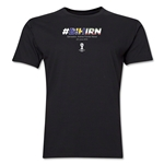 Bosnia-Herzegovina v Iran 2014 FIFA World Cup Brazil(TM) Men's Premium Match Hashtag T-Shirt (Black)