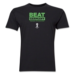 Portugal Beat Germany 2014 FIFA World Cup Brazil(TM) Men's Premium T-Shirt (Black)