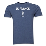 France 2014 FIFA World Cup Brazil(TM) Men's Premium Native Language T-Shirt (Black)