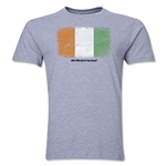 Cote d'Ivoire FIFA World Cup Brazil(TM) Men's Premium Flag T-Shirt (Gray)