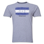 Honduras FIFA World Cup Brazil(TM) Men's Premium Flag T-Shirt (Gray)