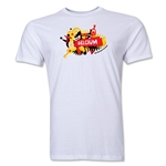 Belgium FIFA World Cup Brazil(TM) Men's Premium Celebration T-Shirt (White)