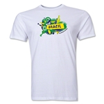 Brazil FIFA World Cup Brazil(TM) Men's Premium Celebration T-Shirt (White)