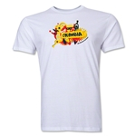 Colombia FIFA World Cup Brazil(TM) Men's Premium Celebration T-Shirt (White)