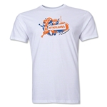 Netherlands FIFA World Cup Brazil(TM) Men's Premium Celebration T-Shirt (White)