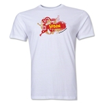 Spain FIFA World Cup Brazil(TM) Men's Premium Celebration T-Shirt (White)