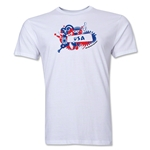 USA FIFA World Cup Brazil(TM) Men's Premium Celebration T-Shirt (White)