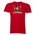 Germany 2014 FIFA World Cup Brazil(TM) Men's Champions Official Look Trophy T-Shirt (Red)