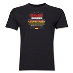 Germany 2014 FIFA World Cup Brazil(TM) Men's Champions 14 T-Shirt (Black)