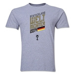 Germany 2014 FIFA World Cup Brazil(TM) Weltmeister Trophy T-Shirt (Grey)