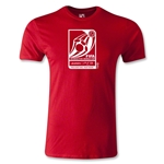 FIFA Interactive World Cup Men's Fashion Emblem T-Shirt (Red)