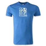 FIFA U-20 World Cup Turkey 2013 Men's Fashion Emblem T-Shirt (Heather Blue)