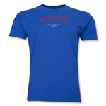 Croatia 2013 FIFA U-17 World Cup UAE Men's Premium T-Shirt (Royal)