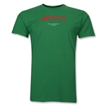 Mexico 2013 FIFA U-17 World Cup UAE Men's Premium T-Shirt (Green)