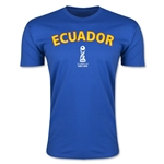 Ecuador FIFA U-17 World Cup Chile 2015 Men's Premium T-Shirt (Royal)