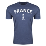 France FIFA U-17 World Cup Chile 2015 Men's Premium T-Shirt (Blue)