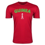 Guinea FIFA U-17 World Cup Chile 2015 Men's Premium T-Shirt (Red)