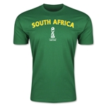 South Africa FIFA U-17 World Cup Chile 2015 Men's Premium T-Shirt (Green)